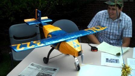 First annual ice cream social model plane