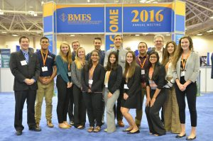 BME Students Attend National Biomedical Engineering Society